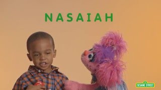 Sesame Street and Autism: Spelling Nasaiah