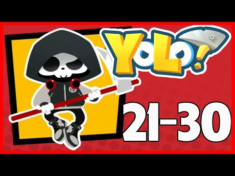 Yolo Level 21 22 23 24 25 26 27 28 29 30 Solution Walkthrough Youtube