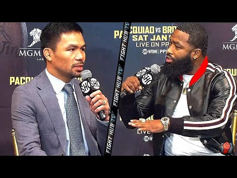 ADRIEN BRONER TELLS MANNY PACQUIAO