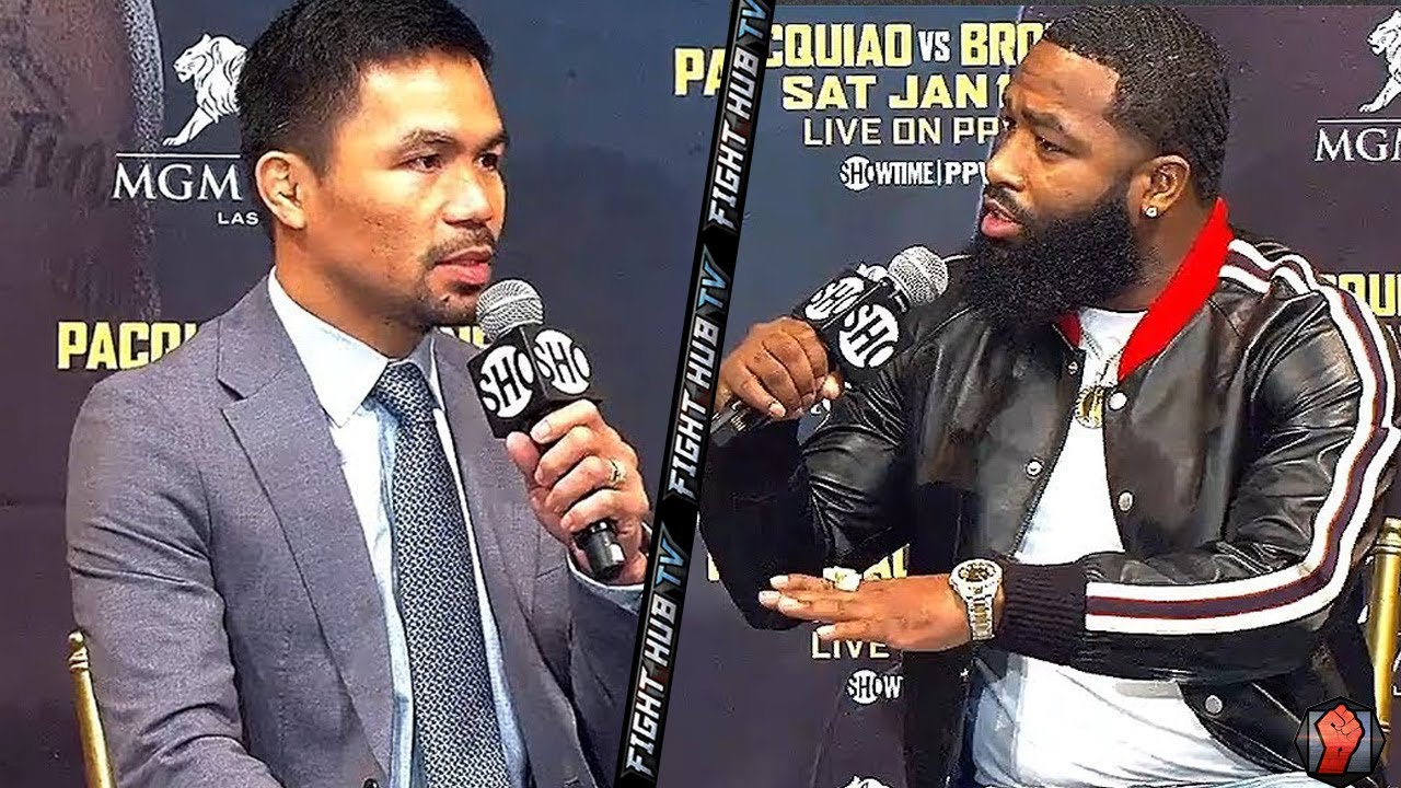 "ADRIEN BRONER TELLS MANNY PACQUIAO ""IM ABOUT TO BEAT YO ****, DONT WORRY ABOUT FLOYD!"""