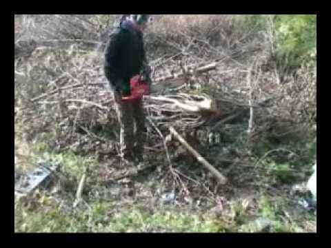 chainsaw, petrol garden chainsaw video from Mower Mart ama bg45-18