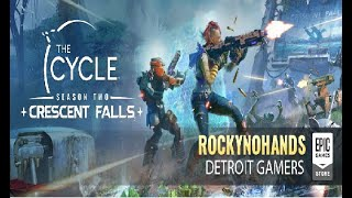 the cycle game play w/ quadstick #DetroitGamers