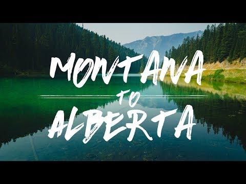 Montana To Alberta    Kootenay National Park & Olive Lake