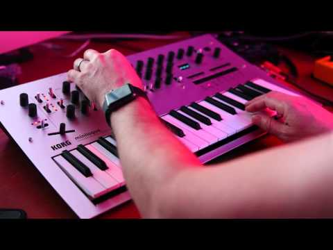 Minilogue Demo - Sequencer and Voice Modes, by Earmonkey