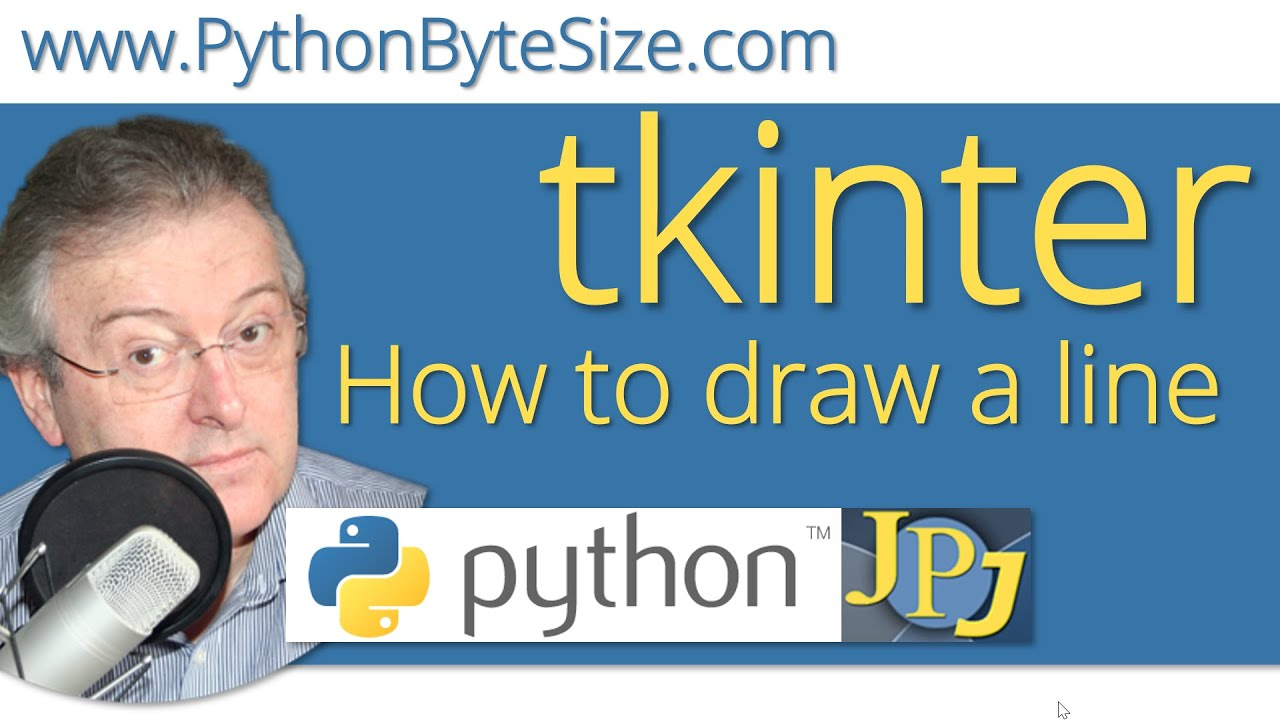 How to draw a line in Python using tkinter
