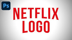 Adobe Photoshop - Netflix Logo