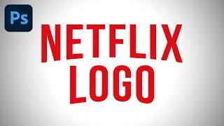 Adobe Photoshop - Netflix Logo