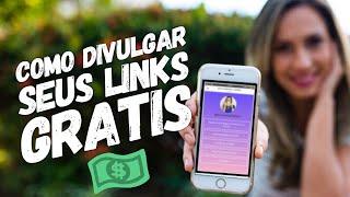 😱 Como DIVULGAR seus LINKS DE AFILIADO DE GRAÇA | 3 formas GRÁTIS Usando Linktree | Luana Franco thumbnail