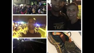 Desafio do tigre, trail run noturno - 2017