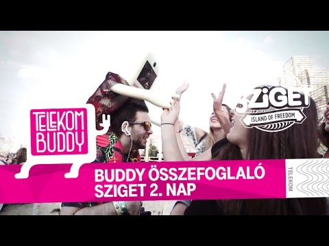 Telekom Buddy a Szigeten - 2. nap