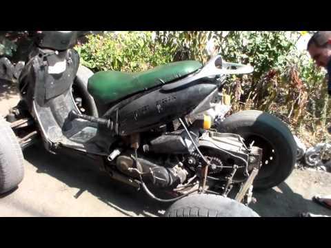 Самодельный квадроцикл из скутера своими руками