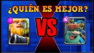 DUENDE GIGANTE vs GIGANTE NOBLE - CLASH ROYALE - 1 vs 1 Duelo