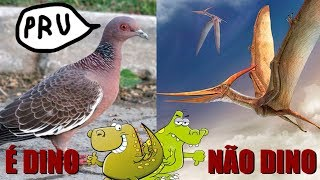 Por que aves são dinossauros e pterossauros não são? (#Pirula 261)