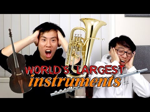 The World's Largest (and most IMPRACTICAL) Music Instruments