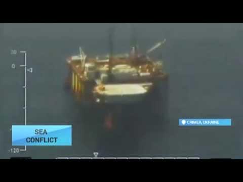 Sea Confrontation: Russian guard vessel violates Ukrainian sea border