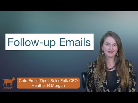 What to say in a follow up email online hookup