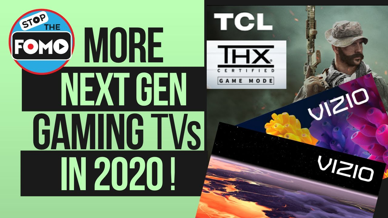 Wait! TCL & Vizio Gaming TVs on the Way - This should be it, right?