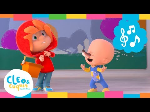 CINCO LOBITOS. Cleo & Cuquin I Familia Telerin. Canciones Infantiles para niños