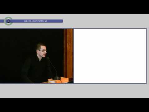 Otto Auranen: Julkaisufoorumi-hankkeen toteutus, lopputulos ja tulevaisuus