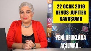 22 Ocak'ta Venüs Jüpiter Kavuşumu