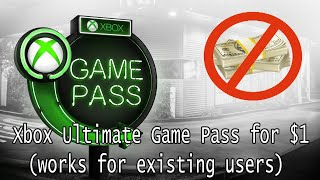 How to get 3 months of Xbox Ultimate Game Pass for $1 (November 2019) / Видео
