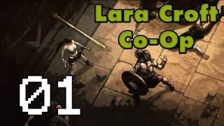 ★ Lara Croft and the Guardian of Light Co-Op - Part 1: Teamwork!! [HD][PC/PS3/X360]