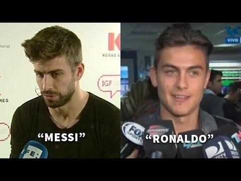 5 Cracks que jugaron con Ronaldo y Messi y eligieron quien era mejor