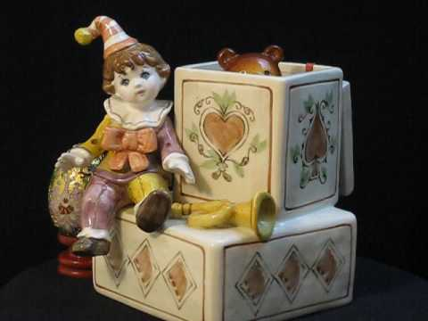the clown and teddy bear music box series youtube. Black Bedroom Furniture Sets. Home Design Ideas