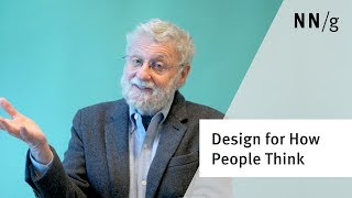 Design for How People Think (Don Norman)