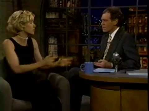 Tea Leoni on Letterman 1996