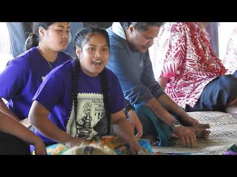McAuley High School Malaga 2019 - Ava Ceremony with National University of Samoa