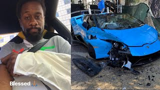 DDE Raymond In Lamborghini CRASH…
