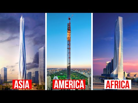 Tallest Skyscrapers Under Construction By Continent