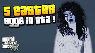 GTA 5 | 5 EASTER EGGS in GTA ! | WILHELM SCREAM, ZOMBIEAUSBRUCH & MEHR ! | IDzock
