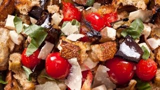 How To Make Easy Eggplant Parmesan Salad - The Easiest Way
