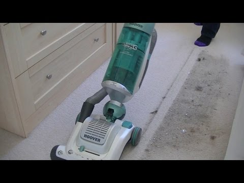 Hoover Globe Eco G Bagless Upright Vacuum Cleaner Demonstration
