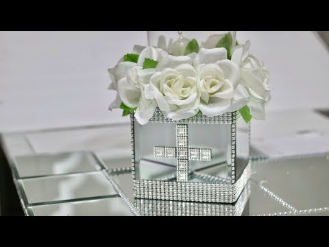 Dollar Tree Centerpiece DIY Series/Religious - Video #4 of 5