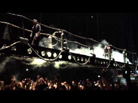 Intro and Sonne - Rammstein, Live at the Palace of Auburn Hills (Detroit) May 6, 2012