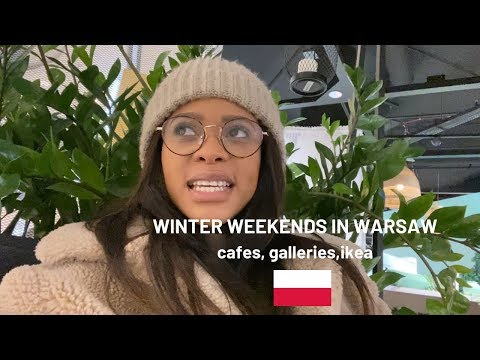 Warsaw Vlog: art gallery  , cafe visits and ikea 🇵🇱