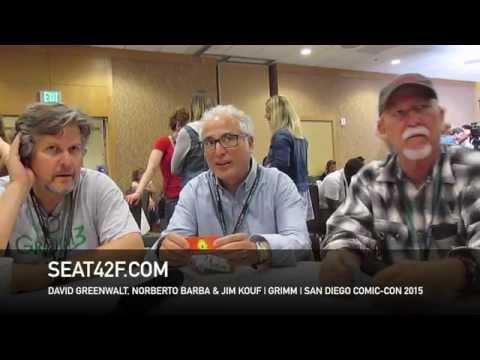 David Greenwalt, Norberto Barba & Jim Kouf GRIMM Comic Con 2015 Interview