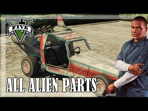 GTA 5 - All Spaceship parts, reward