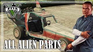 GTA 5 - All Spaceship parts, reward