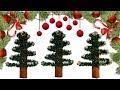 Cinnamon stick Christmas tree ornaments.