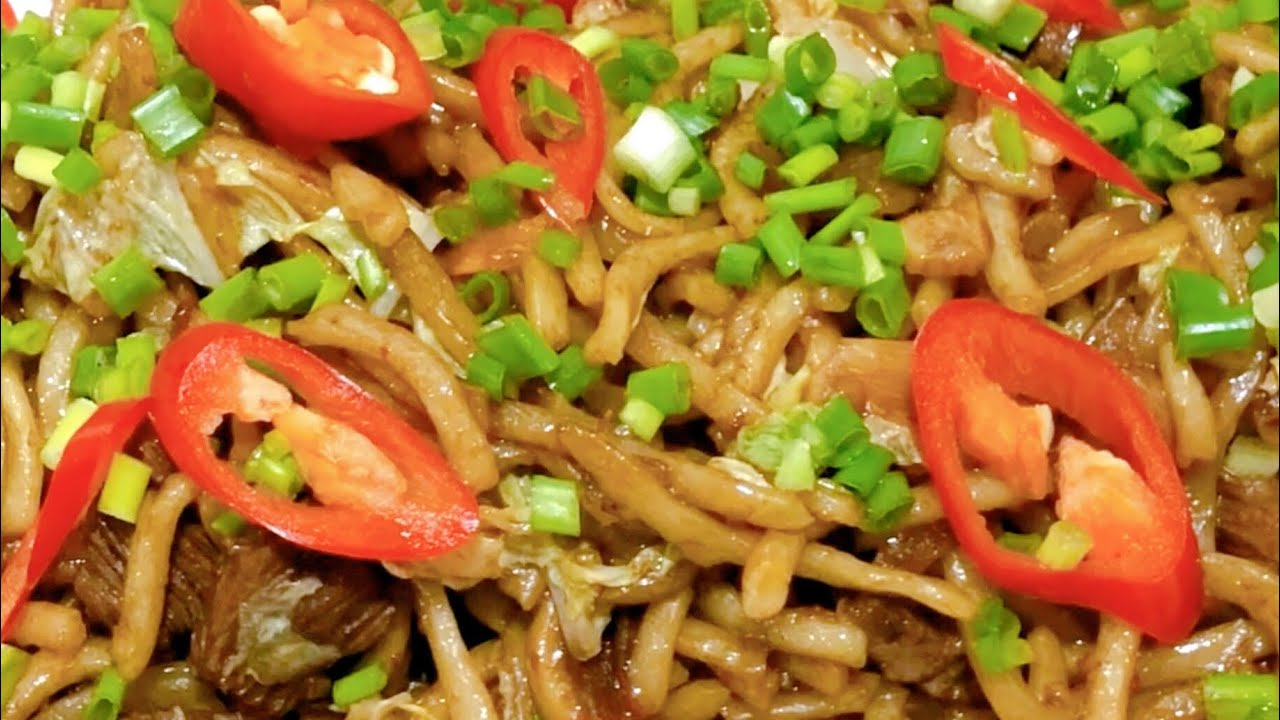 memasak resepi mi goreng mudah cepat  sedap youtube Resepi Mee Goreng Ratna Enak dan Mudah