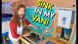 Master Craftsman Renovates My Camper Van To DRASTICALLY Improve My Van Life!
