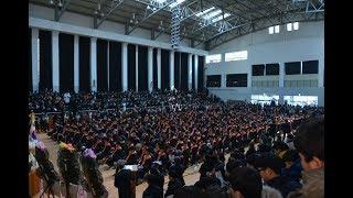 2018년 강북고등학교 졸업식 동영상 2