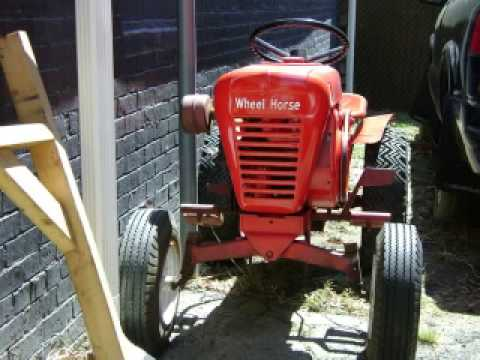 old garden tractors YouTube