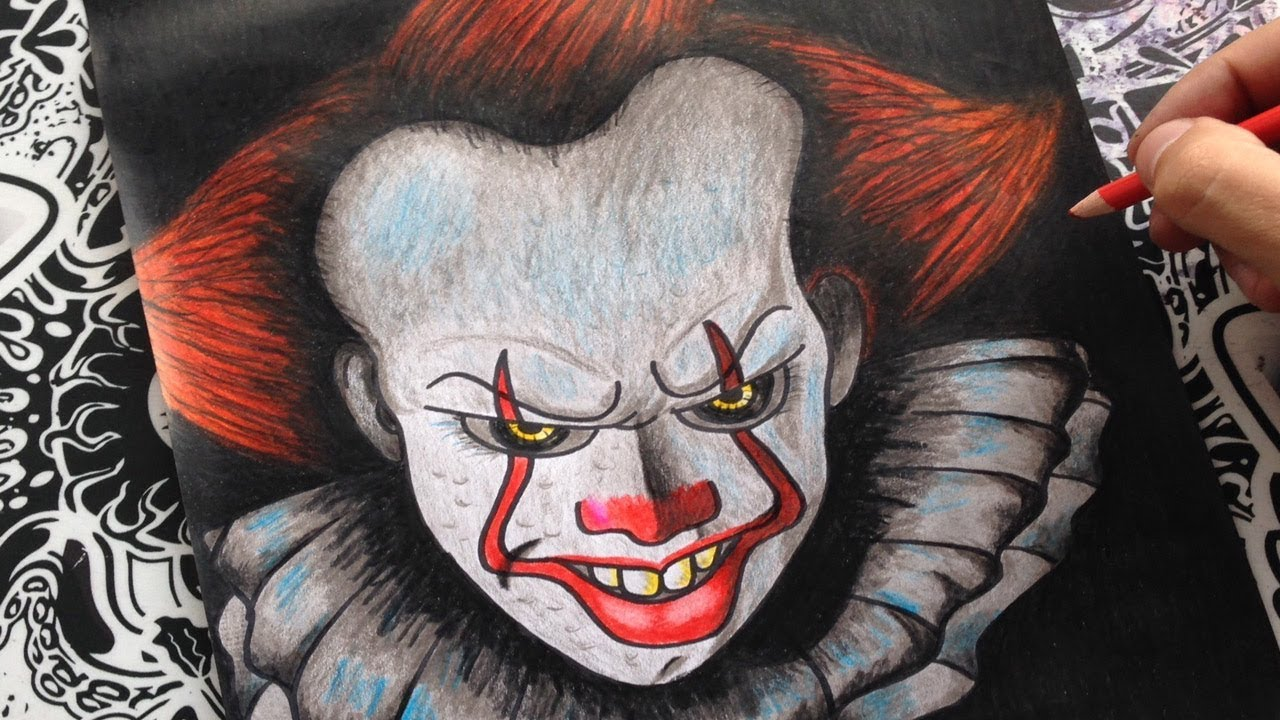 Como Dibujar A It Eso Pennywise How To Draw It The Clown
