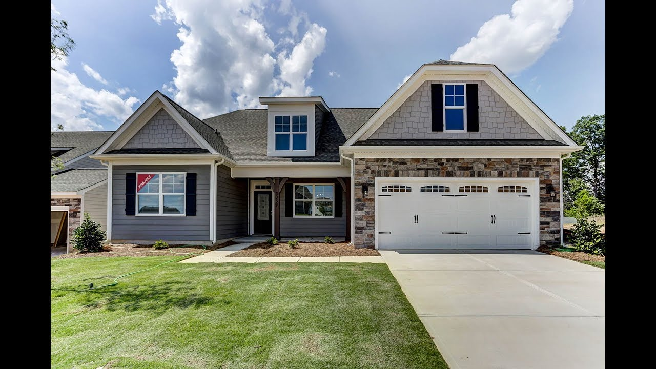 New Homes In Greenville Sc The Caldwell By Eastwood Homes Youtube