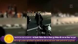 Watch : Kinnar's  goes Nude and  Dance on Signature Bridge in  New Delhi